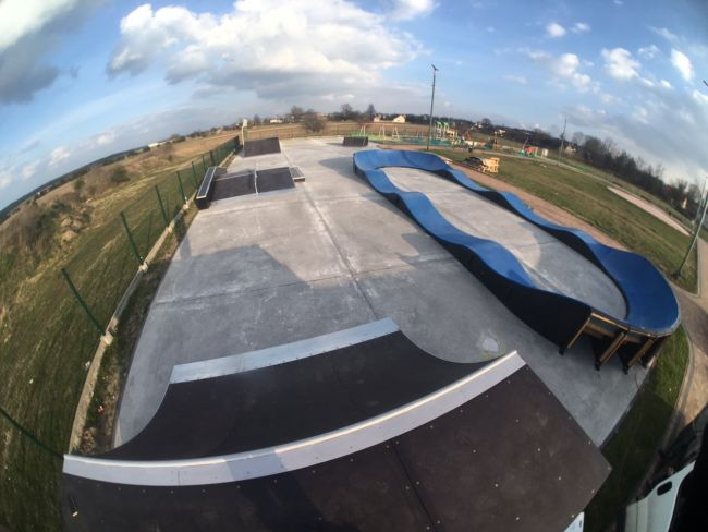 Skatepark and Pumptrack in Mierzęcice