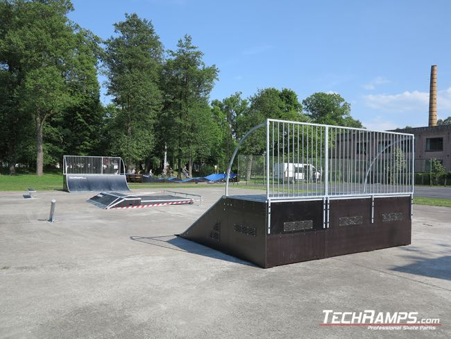 Skatepark and pumptrack in Witnica