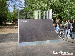 Skatepark bankramp