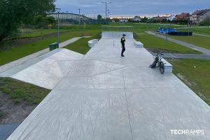 Skatepark betonowy Chęciny