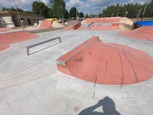 Skatepark betonowy - Sławno