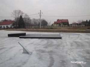 Skatepark Białobrzegi koło Łańcuta