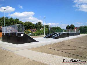 Skatepark Chałupki panorama