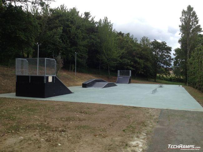 Skatepark Chianciano Terme (Italy)