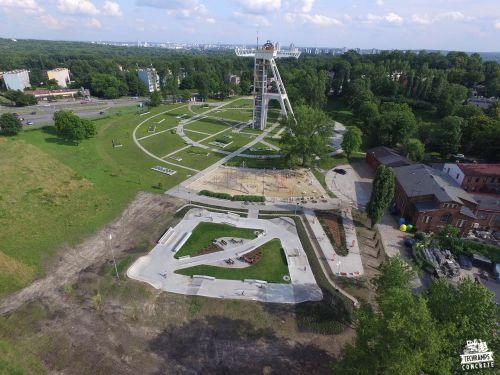 Skatepark Chorzow - concrete