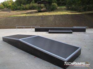 Skatepark Cieszyn grindbox