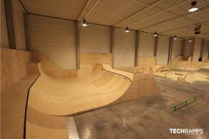 Skatepark cubierto Cracovia