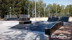 Skatepark Dąbrowa Górnicza Funbox z grindboxem