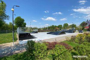 Skatepark drewniany