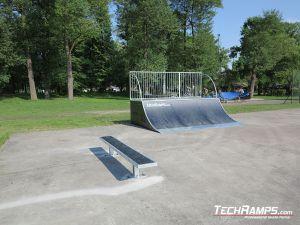 Skatepark drewniany na nowym placu w Witnicy