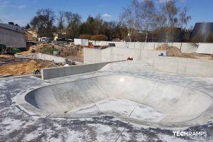 Skatepark en béton Pacanów