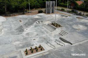 Skatepark en béton Techramps