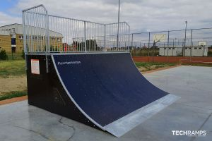 Skatepark en bois