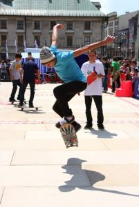 Skatepark Es GAME of Skate cracow 4