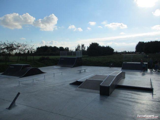 Skatepark Gościno - rozbudowa