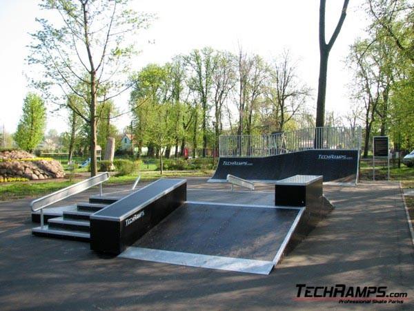 Skatepark in Bierutow