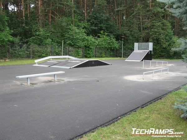 Skatepark in Blachownia