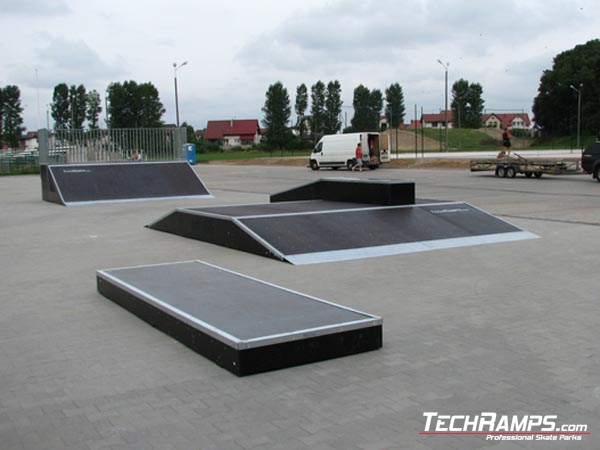 Skatepark in Buk
