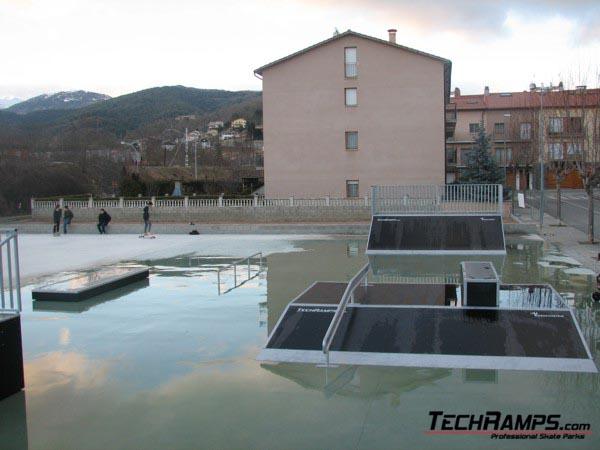 Skatepark in Campdevànol