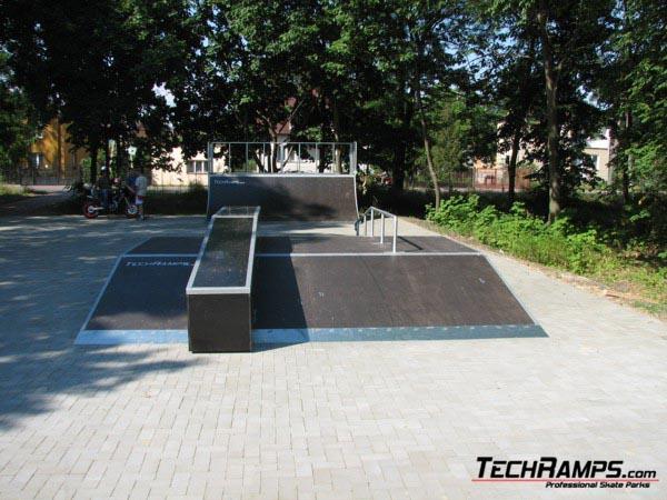 Skatepark in Celestynow
