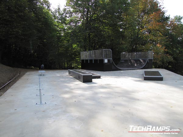 Skatepark in Cieszyn