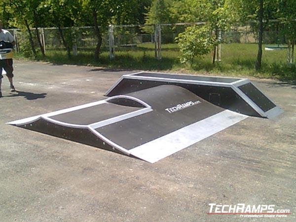 Skatepark in Czaplinek