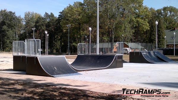 Skatepark in Dabrowia Gornicza
