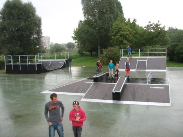Skatepark in Działdowo