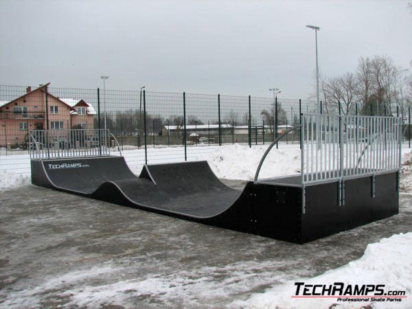 Skatepark in Dziwnow
