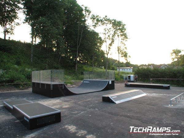Skatepark in Gorowo Ilaweckie