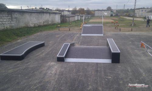 Skatepark in Grzebsk