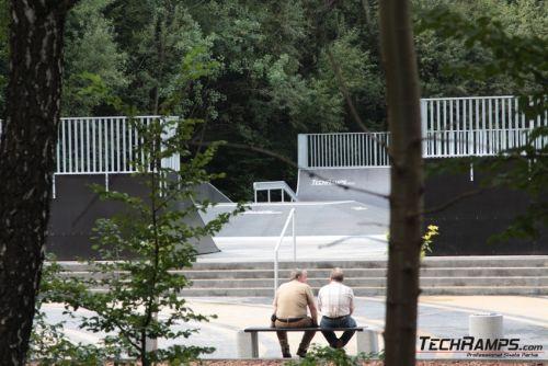 Skatepark in Jastrzebie Zdroj
