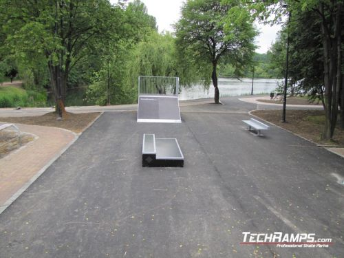 Skatepark in Katowice