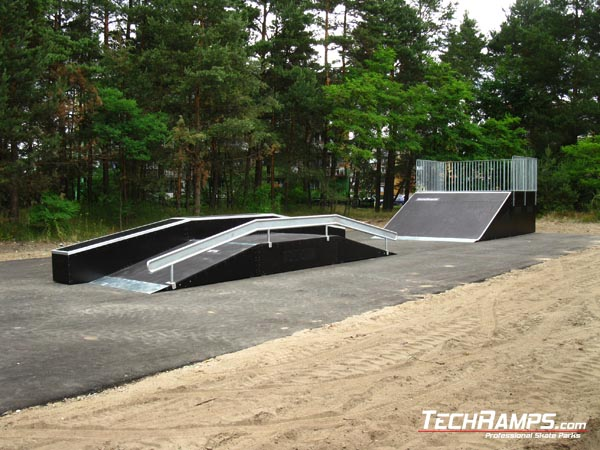 Skatepark in Klucze