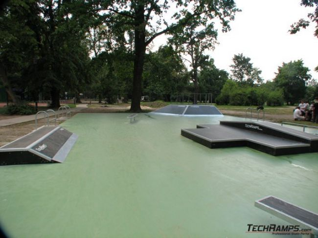 Skatepark in Krakow - Park Jordana
