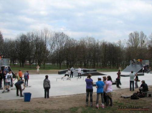 Skatepark in Lodz