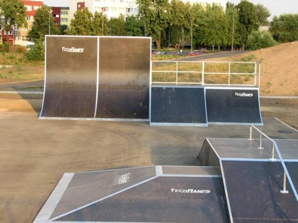 Skatepark in Lubin