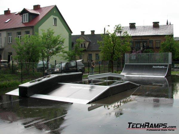 Skatepark in Miedzyrzec Podlaski