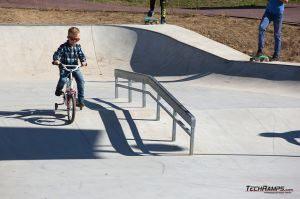 Skatepark in monolith technology - Maniowy