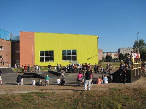 Skatepark in Nowa Sarzyna
