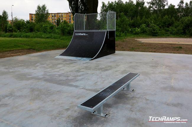 Skatepark in Nowe Miasto nad Pilicą