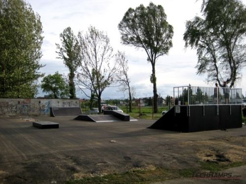 Skatepark in Nowy Targ