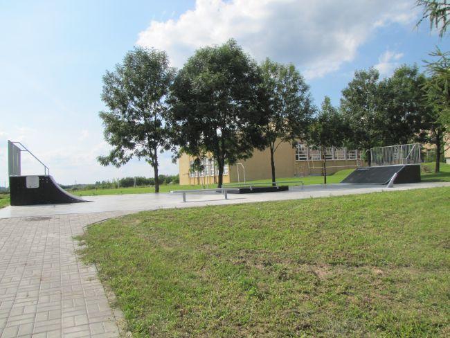 Skatepark in Opole Lubelskie