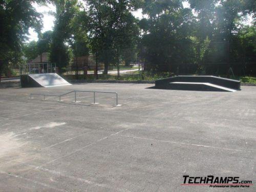 Skatepark in Ośno Lubuskie