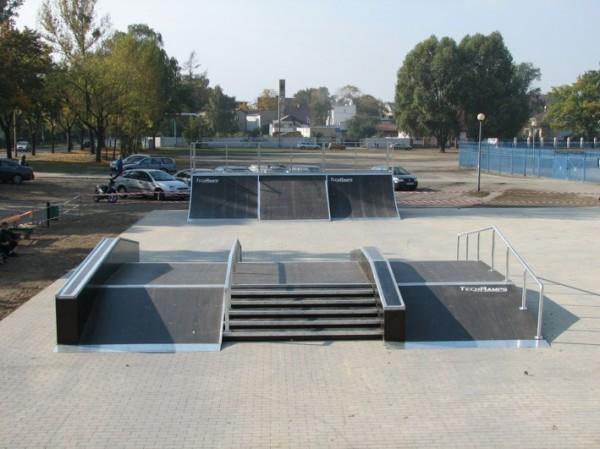 Skatepark in Ostrów Wielkopolski