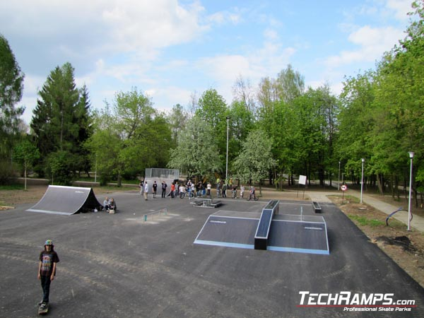 Skatepark in Ostrowiec Swietokrzyski
