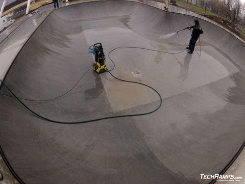 Skatepark in Oswiecim