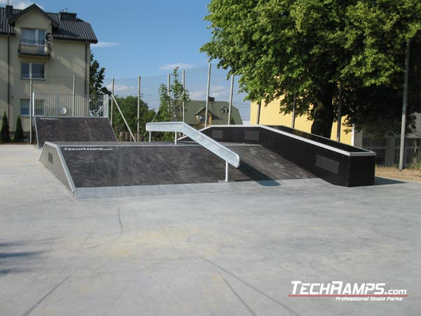 Skatepark in Pawlow