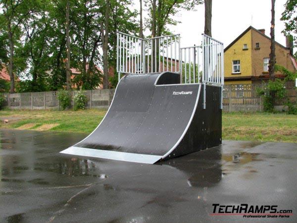 Skatepark in Pleszew