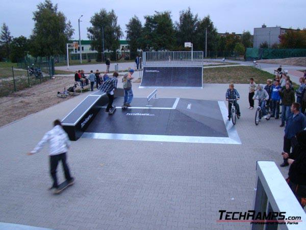 Skatepark in Pobiedziska